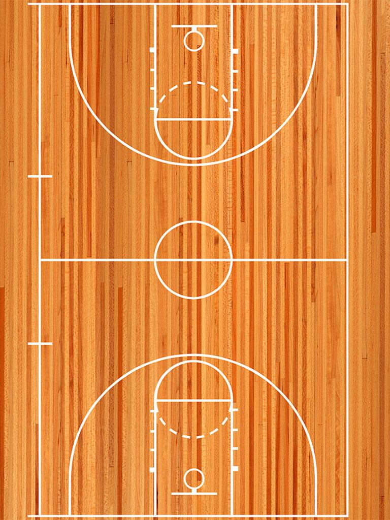Background image basketball court