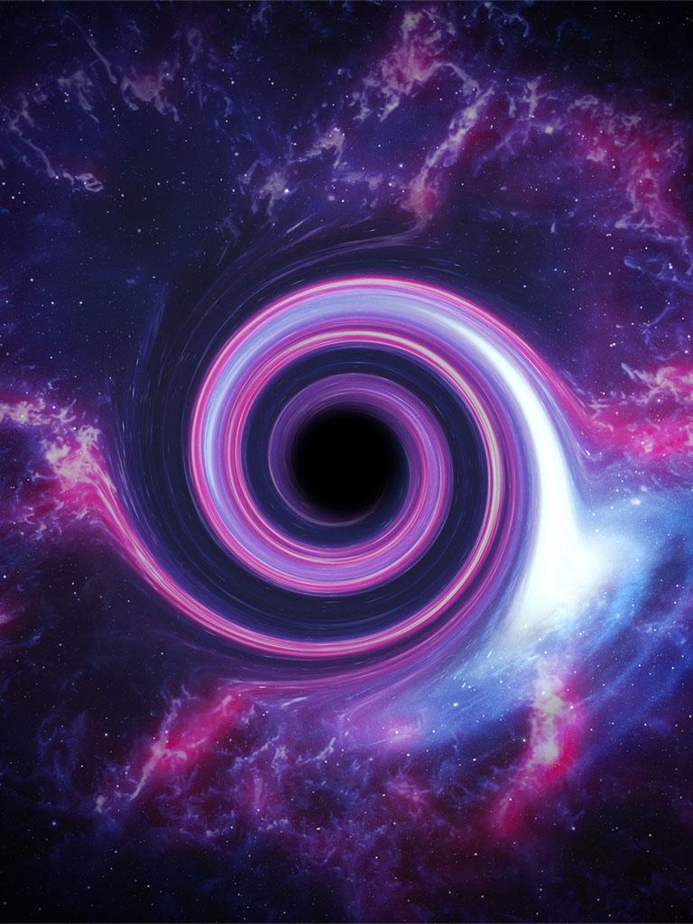Background image blackhole